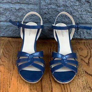 Kelly & Katie Blue High Heels